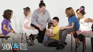 Show and Tell Siblings Round 2! | Show and Tell | HiHo Kids
