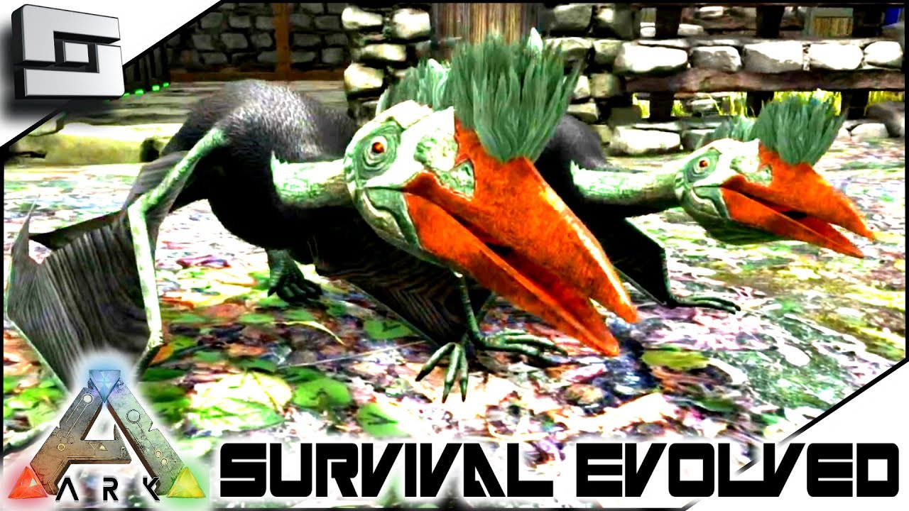 ARK: Survival Evolved   TWIN SUPER BABY QUETZALS! S2E73 ( Gameplay )    Clipzui.com