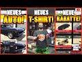 🙌ALLE Neuen Inhalte! VAMOS, T-SHIRT, RABATTE Und Mehr!🙌[GTA 5 Online Arena War Update]