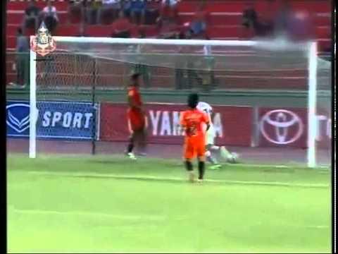 ดูบอลสดไทยพรีเมียร์ลีก2013 ราชบุรี มิตรผล เอฟซี 2 3 ชัยนาท เอฟซี
