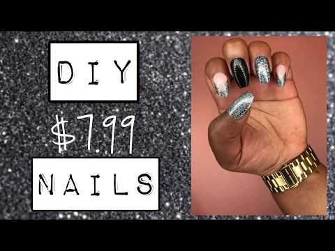 DIY Cheap ($7.99) Fake Nails | Nicole_Echelon