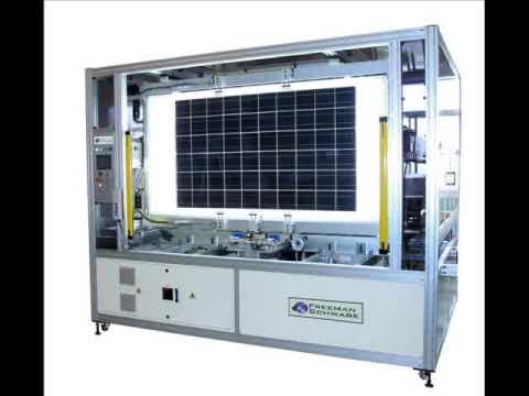 Solar Panel Manufacturing Equipment Youtube