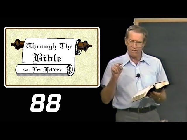 [ 88 ] Les Feldick [ Book 8 - Lesson 1 - Part 4 ] Red Sea Experience: Picture of Salvation: Ex 10-15