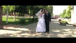 Свадебная прогулка г.Губкин  11 мая 2013 год