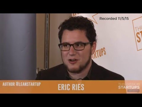"""Eric Ries of """"The Lean Startup"""" explains why crazy ideas are better than good ideas"""