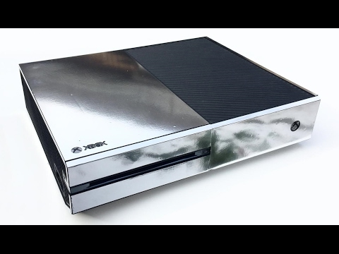 XtremeSkins Chrome Silver Xbox One Console Skin Installation and Review
