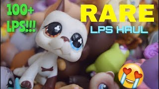 LPS: HUGE RARE HAUL!! 100+ LPS?!? || New Lps #14