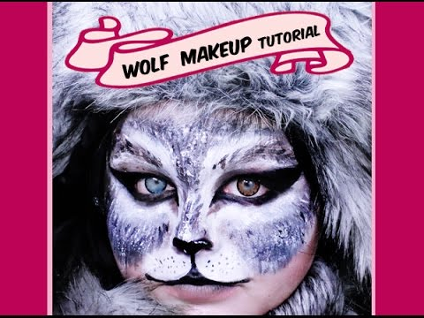 GRAY WOLF MAKEUP TUTORIAL | GREAT FOR HALLOWEEN