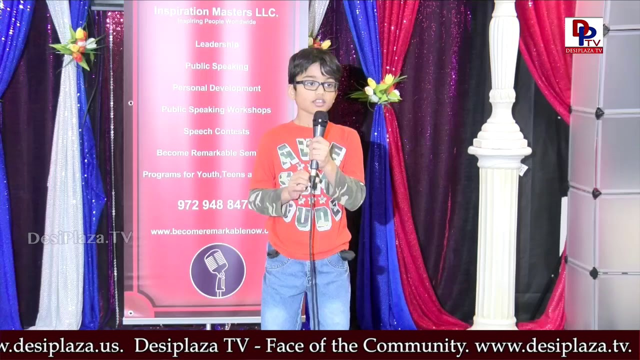 "Karunya speaks on ""Donations"" topic at Talking Bee - Public Speaking Competitions 2018 