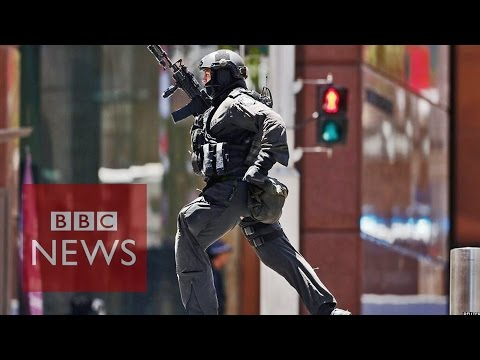 Sydney cafe hostages held by gunman