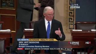 Jeff Sessions on the Veterans Health Care Bill Free HD Video