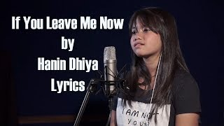 Charlie Puth If You Leave Me Now Cover by Hanin Dhiya