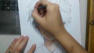 Speed Drawing - Mashima Taichi (Chihayafuru)