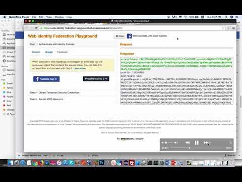 [AWS: Từ lý thuyết tới thực hành] Part3b: IAM với web id Facebook