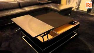 Modern Black Coffee Table Vgwcp209a