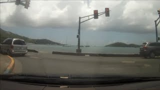 Driving in the US Virgin Islands - Northside to Bolongo Bay
