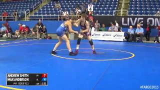 126 Cons. Round 2 - Max Anderson (Alabama) vs. Andrew Smith (Wisconsin)