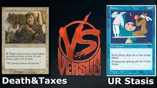 Legacy: Death & Taxes vs UR Stasis (LIve)