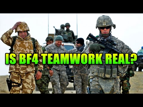 Battlefield 4 And The Illusion Of Teamwork   BF4 Gameplay