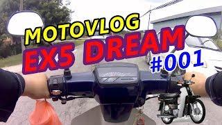Motovlog EX5 dream : sambil ke pasar buah #001