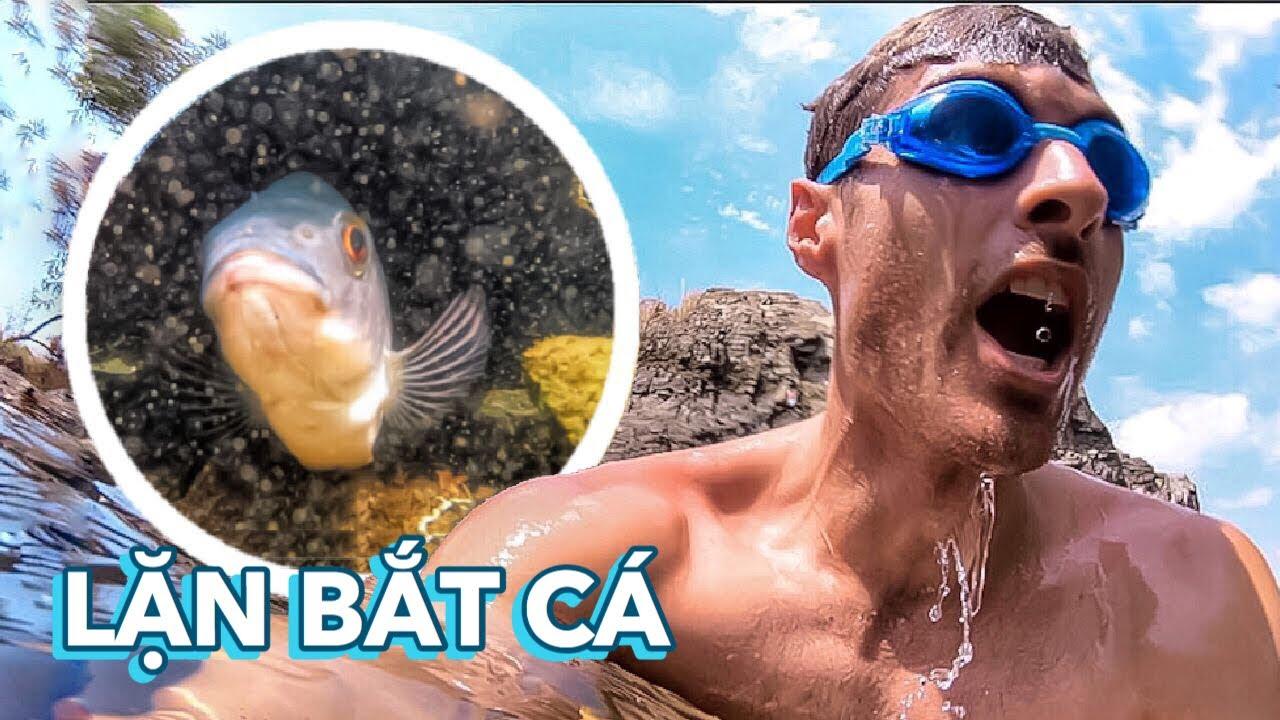 SECRET Crystal CLEAR WATER FISHING! TRỨNG RÁN CẦN MỠ, LẶN BẮT CÁ NƯỚC TRONG VEO NHƯ THUỶ TINH