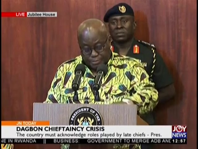 Dagbon Chieftaincy Crisis- Joy News Today (21-11-18)