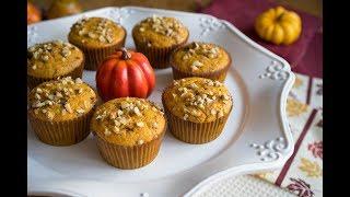 Тыквенные Маффины с Шоколадом | Pumpkin Muffins with Chocolate Chips | Tanya Shpilko