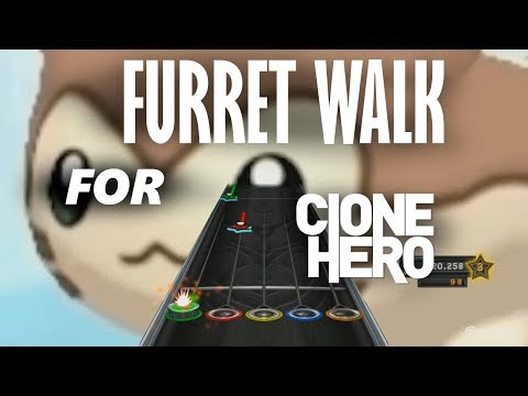Furret Walk Around The World but it's a Clone Hero chart