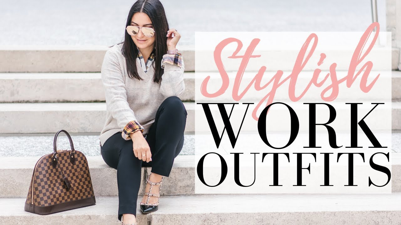 [VIDEO] - WORK LOOKBOOK - Comfortable and Stylish Outfit Ideas for the Office | LuxMommy 2