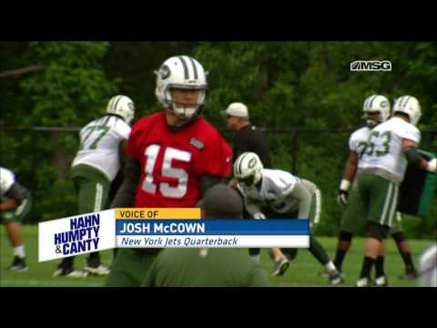 How Josh McCown Can Help the New York Jets the Most | Hahn, Humpty, & Canty
