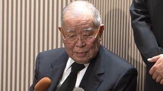野村克也氏、沙知代さんは「いい奥さんでした」