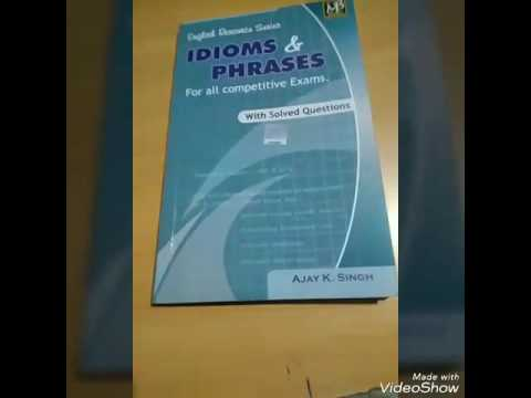 MB PUBLICATION IDIOMS AND PHRASES BY AJAY KUMAR SINGH. FULL ANALYSIS.