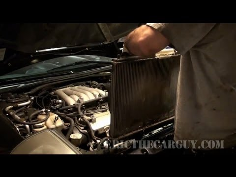 2001 Mitsubishi Eclipse Radiator Replacement - EricTheCarGuy