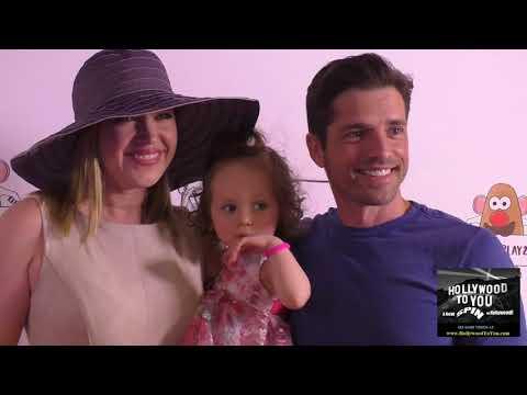 Adrienne Frantz, Amelie Irene Bailey and Scott Bailey at the Zimmer Children's Museum Presents We Al