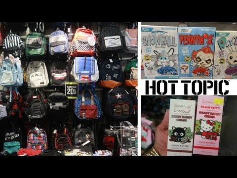 HOT TOPIC * COME WITH ME * BACKPACKS & MORE