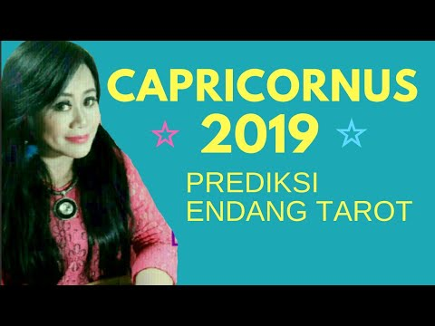 PERUNTUNGAN ZODIAC CAPRICORNUS 2019 | YEARLY HOROSCOPE | Endang Tarot - Fortune Teller (Indonesia)