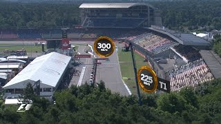 A Bird's-Eye View of the Hockenheimring | German Grand Prix 2016