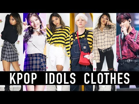 Wearing The Same Clothes As KPOP Idols! BTS, EXO, GOT7, BLACKPINK | Nava Rose