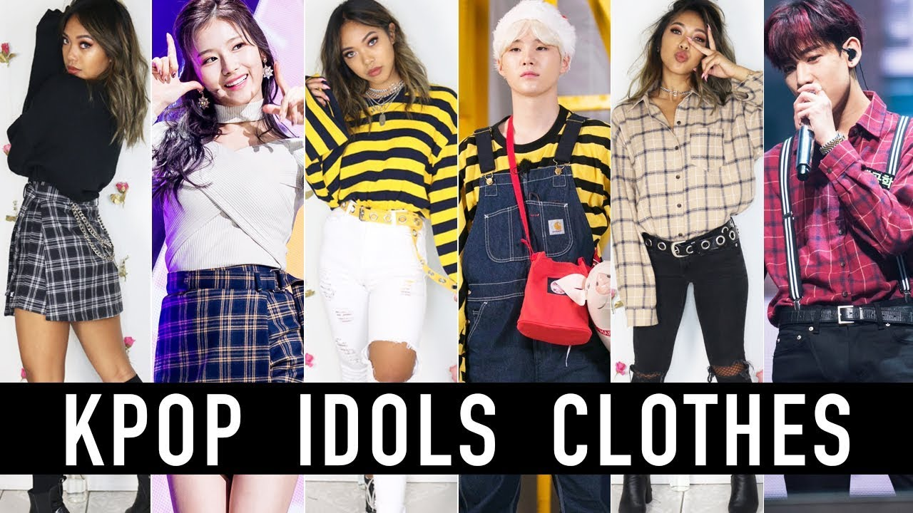 8bda776d4fea3c Wearing The Same Clothes As KPOP Idols! BTS