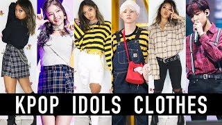 Wearing The Same Clothes As KPOP Idols BTS EXO GOT7 BLACKPINK  Nava Rose