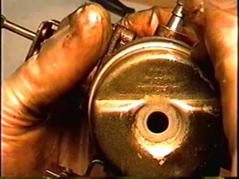 clean rebuild tecumseh snowblower carburetor part