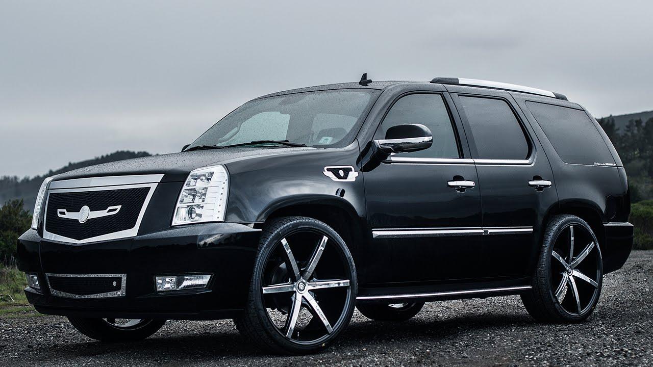 "Cadillac Escalade on 26"" Lexani R6 Wheels by California ..."
