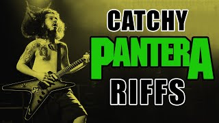 7 Catchy Pantera Metal Guitar Riffs That Will Get Stuck In Your Head For Ages!