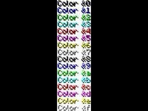 как сделать цветное название клана в майнкрафт 1.8 #6
