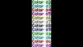 Как сделать ник клана цветним в майнкрафт 1.5.2