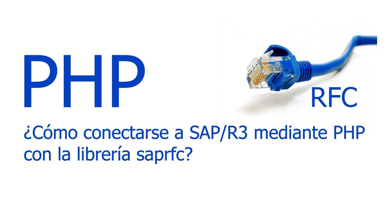 Download ¿Cómo conectarse desde PHP a Sap R3?
