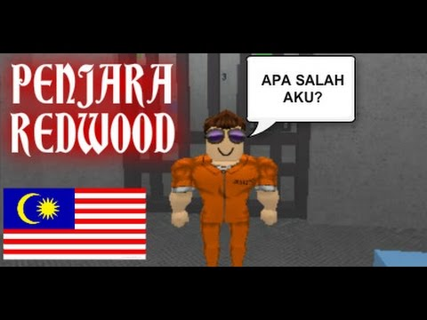 Apa Salah Aku????? [Redwood Prison] Roblox #Malaysia