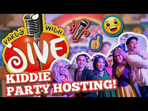 kiddie party hosting - party with jive! - #raketpamore | geca