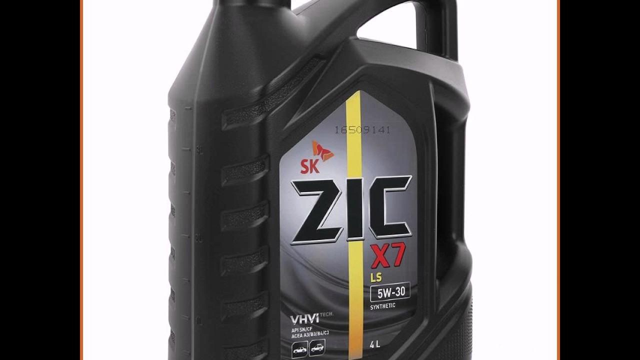 Лакообразование, проверка моторного масла ZIC X7 Diesel 5W-30 для .