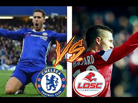 Eden Hazard In Chelsea Vs Eden Hazard In Lille Skills